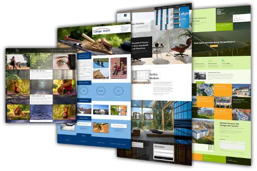 Homepage erstellen lassen Webdesign Würselen