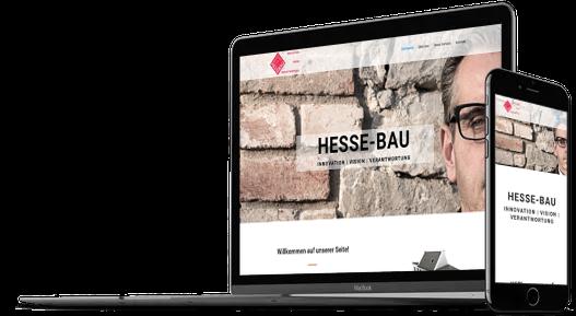 Webdesign Bauunternehmen Baufirma