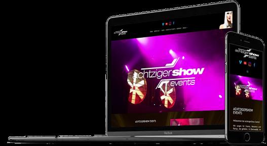 Webdesign Event Veranstaltungen Events Veranstalter DJ