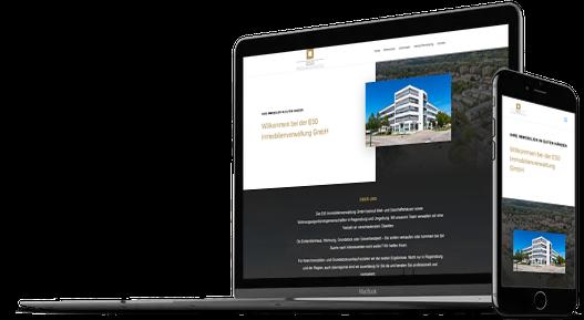 Webdesign Immobilienverwaltung Makler