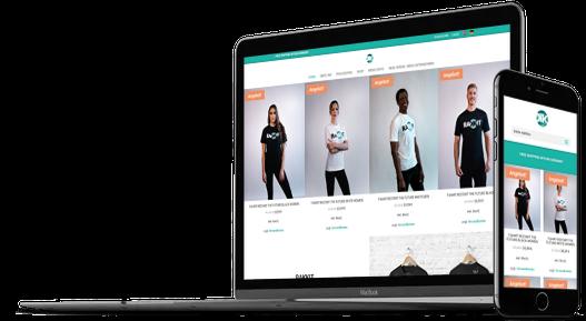 Webdesign Webshop Startup