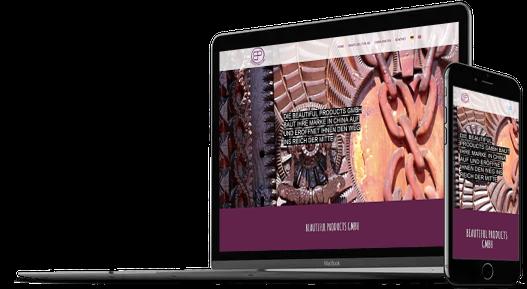 Webdesign Handelsunternehmen